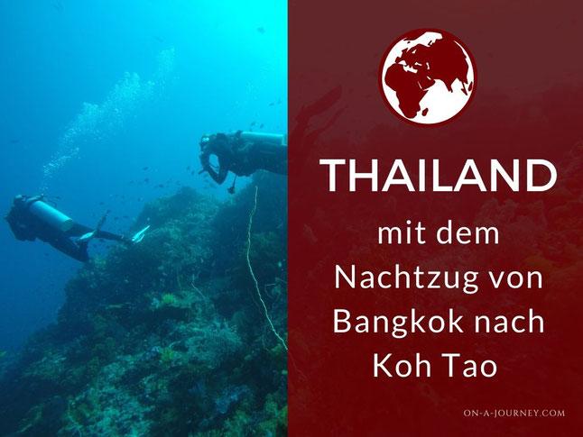 So Kommst Du Von Bangkok Nach Koh Tao Mit Dem Nachtzug On A Journey