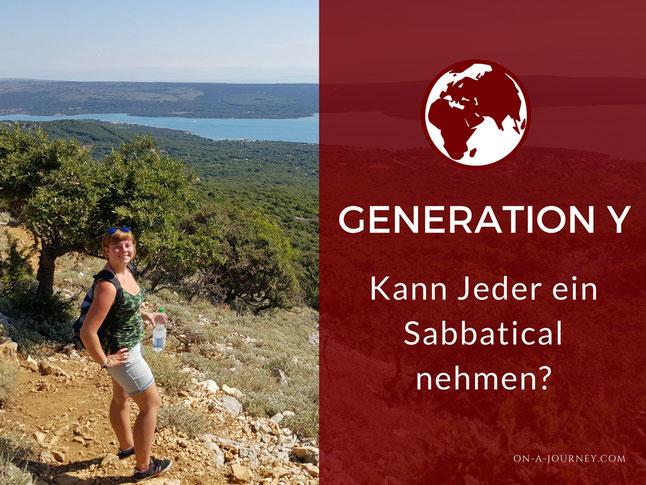 Sabbatical-Generation-Y