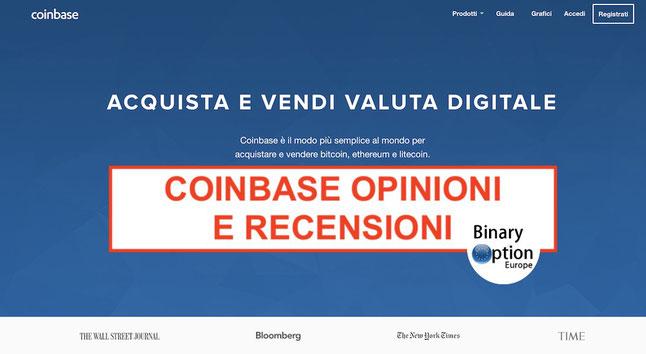 coinbase italia come funziona opinioni e recensioni