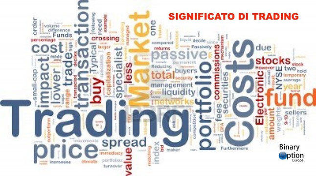 Forex trader significato