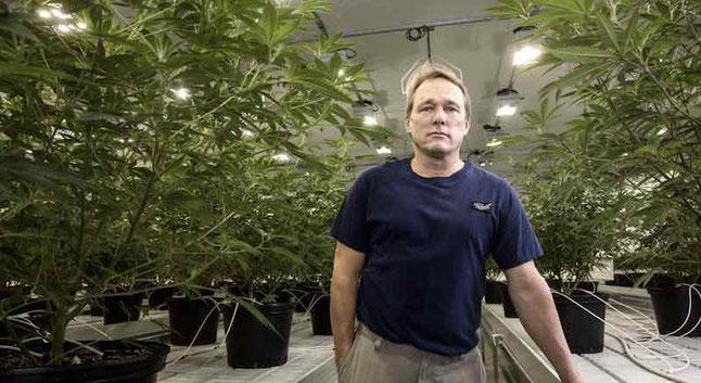 Bruce Linton CEO Canopy Growth
