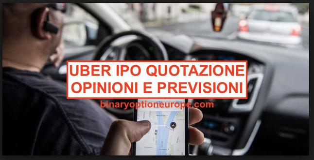 Come comprare Uber iPO 2019 quanto vale quotazione in tempo reale