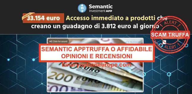 Semantic app opinioni recensioni: truffa o affidabile
