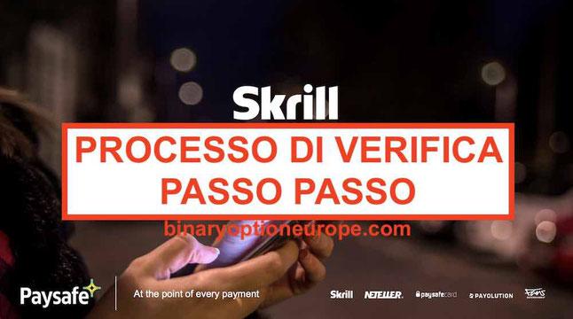 Come verificare conto Skrill in Italia Come inviare documenti Guida