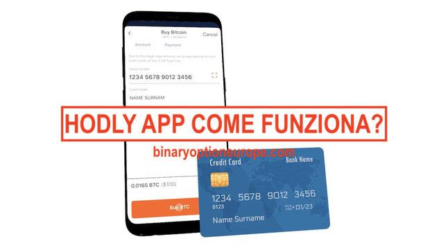 hodly app portafoglio criptovalute come funziona italiano video