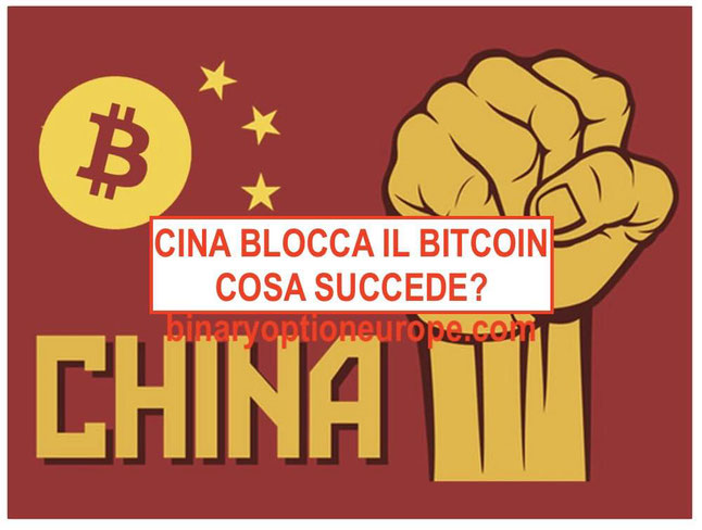 cina blocca bitcoin e siti criptovalute exchange