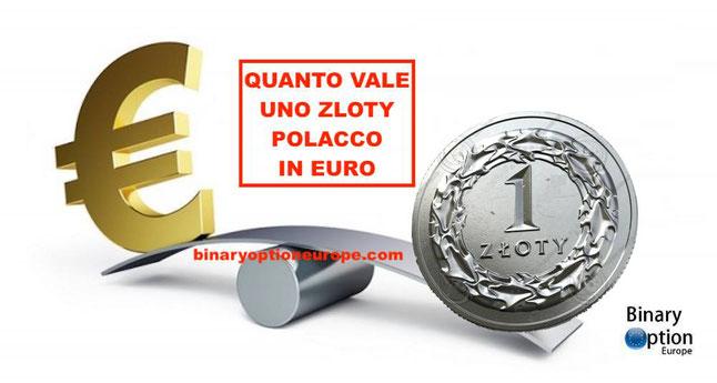 quanto vale uno zloty polacco in euro cambio zloty euro tempo reale