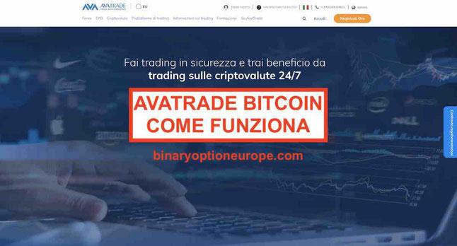 avatrade bitcoin opinioni come funziona