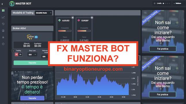 fxmasterbot robot forex funziona o truffa opinioni e recensioni