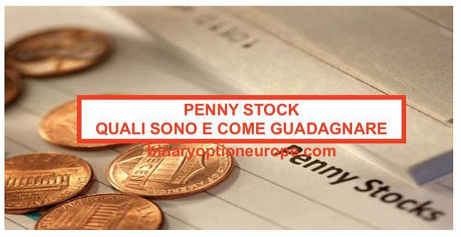Penny stock cosa sono e come funzionano: lista small cap