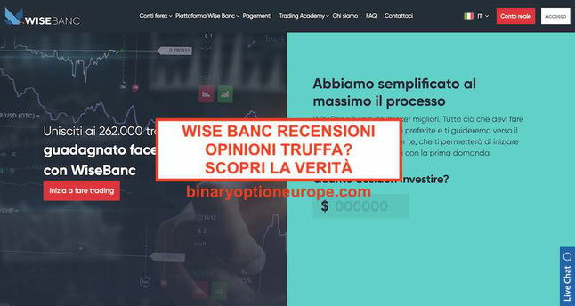Wise bancopinioni recensionitruffa Funziona Pareri Italia 2019
