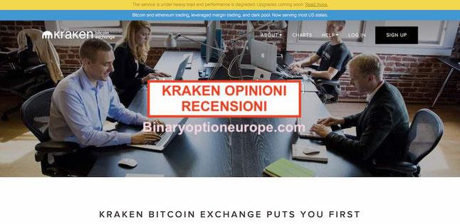 kraken opinioni recensioni come funziona bitcoin commissioni