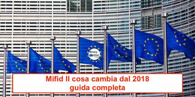 mifid ii 2 cosa cambia cos'è regolamentazione europea guida