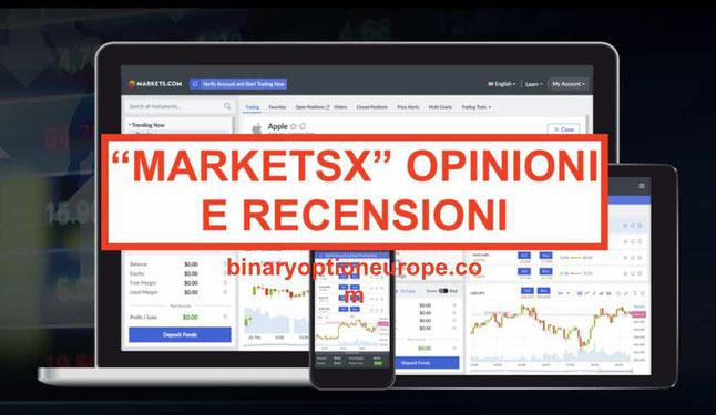 marketsX nuova piattaforma di markets.com opinioni e recensioni