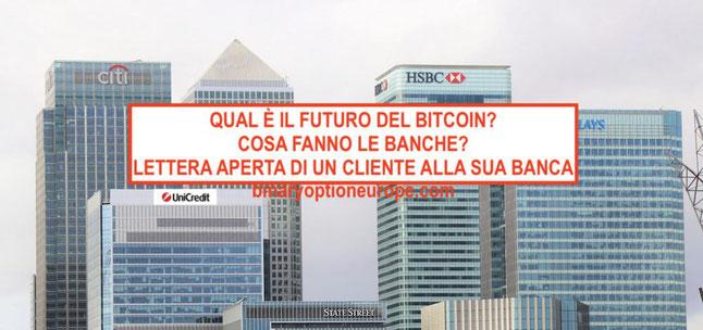 futuro bitcoin 2018 criptovalute e banche