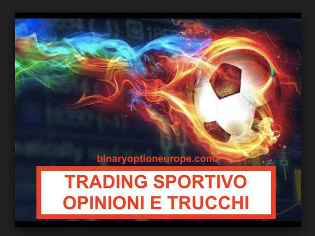 Trading sportivo opinioni recensioni come funziona forum vincente