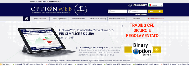 optionweb trading cfd forex italia 2017