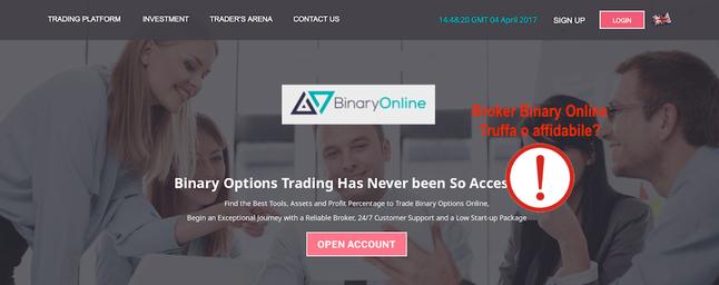 bianryonline.com truffa opinioni recensioni
