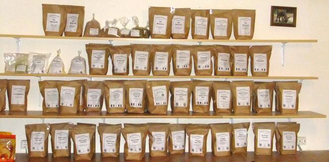 Große Auswahl an Mehlsorten -  Das Mehlstübchen Berlin