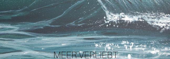Usschnitt aus einem Meeresgemälde, Meerbilder gemalt online kaufen