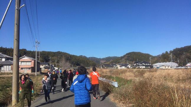 地元のマラソン大会
