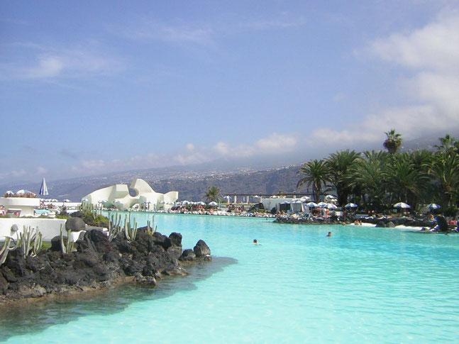Meeresschwimbad großer Pool in Puerto de la Cruz