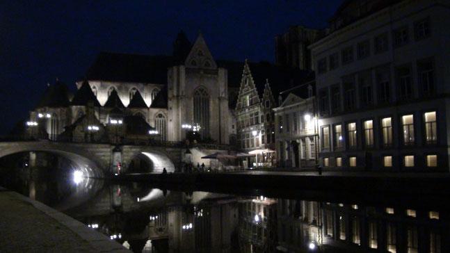 Gent- bei Nacht
