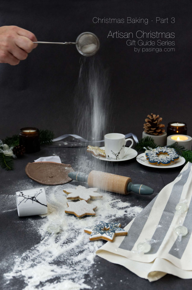 Christmas baking is part 3 of the PASiNGA artisan Christmas gift guide