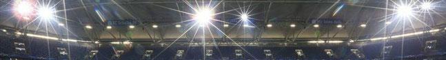 Beleuchtung Arena auf Schalke