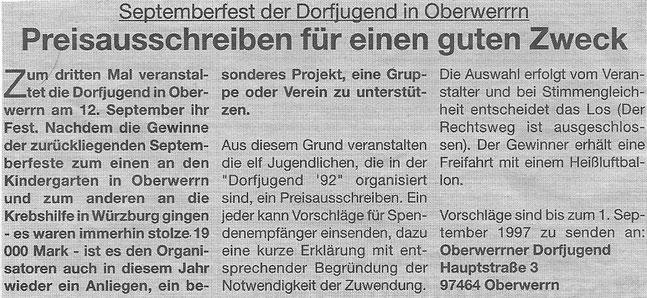 10.08.1997 Markt Schweinfurt