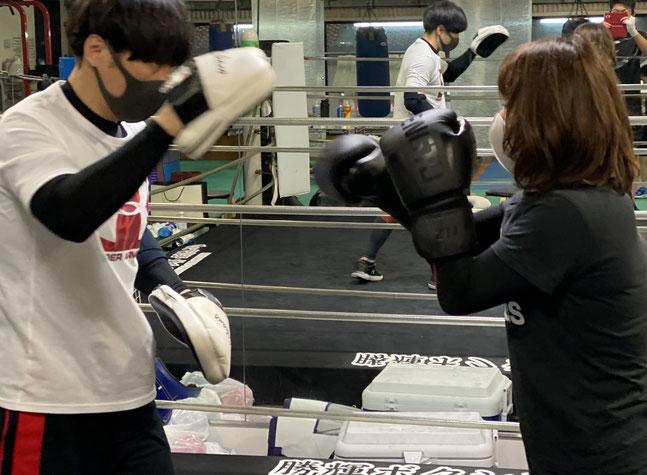 ダイエット堺市 ボクシング