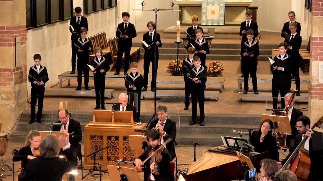 """Video-Gottesdienst """"Kantate"""" mit Thomanerchor und Gewandhausorchester vom 02.05.21"""
