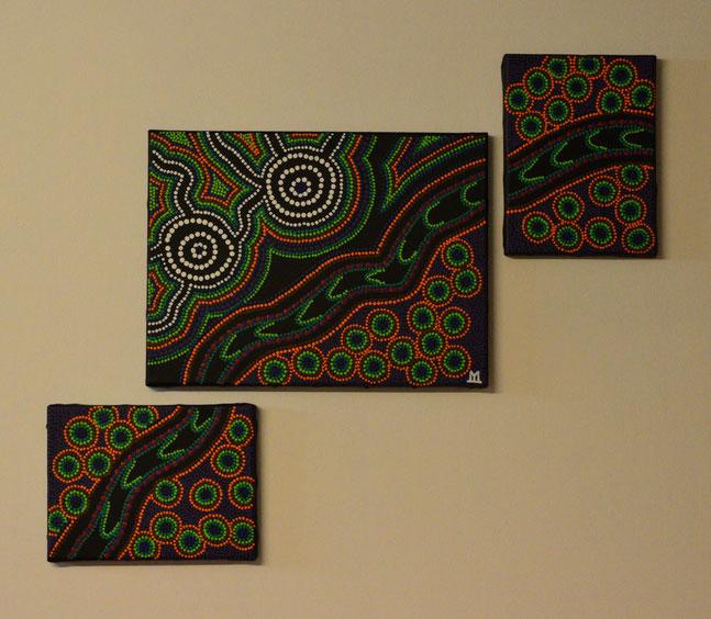 BOOGOODOOGADA    (30 x 40  /  24 x 18 cm)  € 280.-
