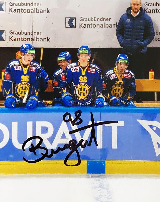 Autograph Benjamin Baumgartner Autogramm
