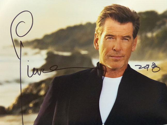 Autograph Pierce Brosnan Autogramm
