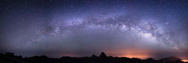 Die Milchstrasse von La Palma aus, von Kai Stockrahm