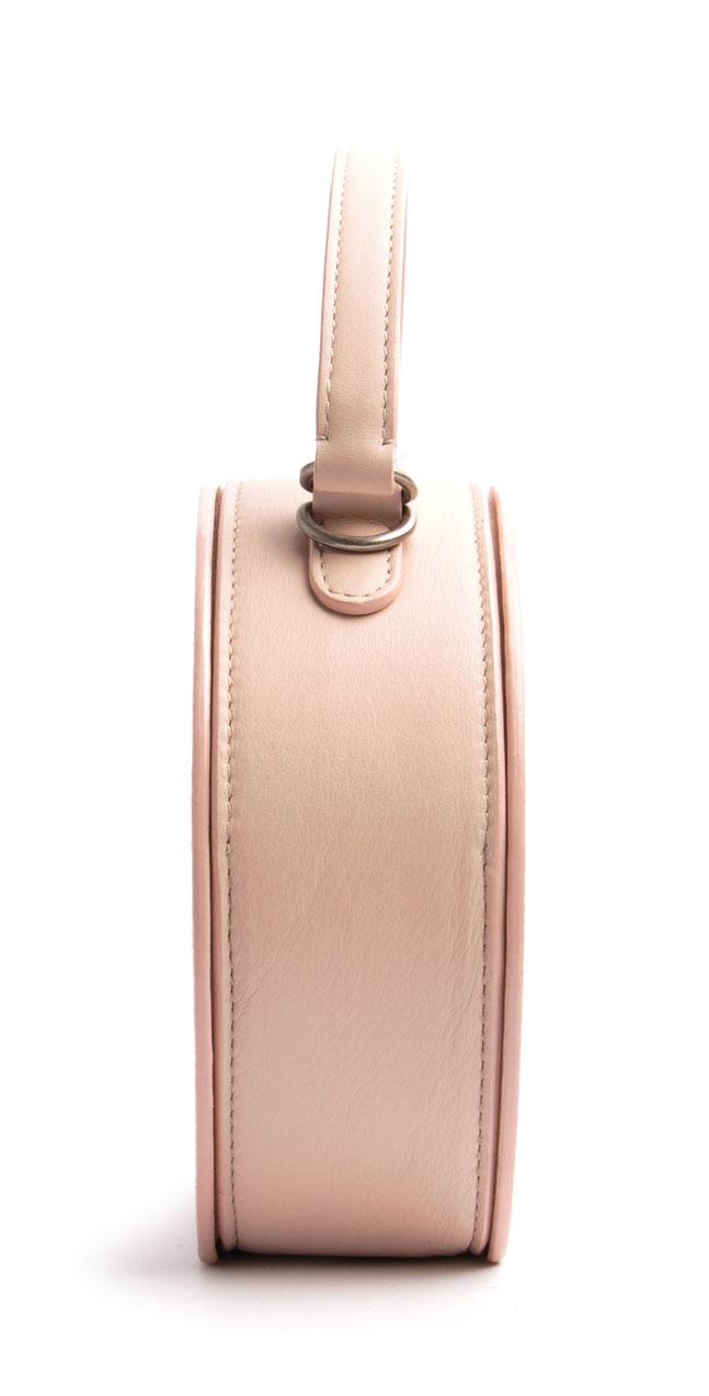 Leder Trachtentasche Dirndltasche rosa  Handarbeit OSTWALD Traditional Craft