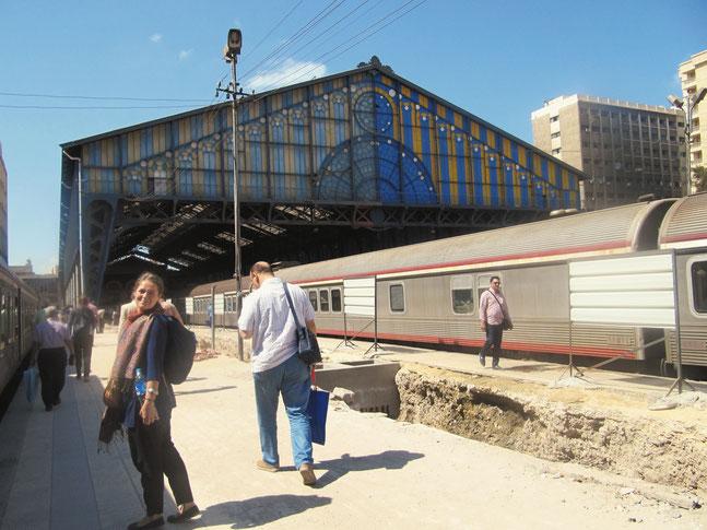 Am Bahnhof von Alexandria