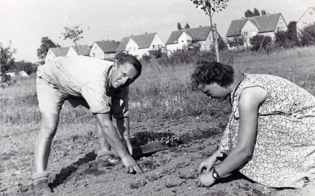 Emmi Pabst und ihr Mann Herbert