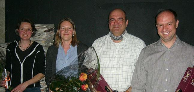 Der Quartierverein begrüsst 4 neue Mitglieder im Vorstand.
