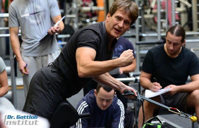 Ausbildung Dr. Gottlob Institut zum Master Trainer für Fitness, Personal, Training, Prävention und Trainingstherapie