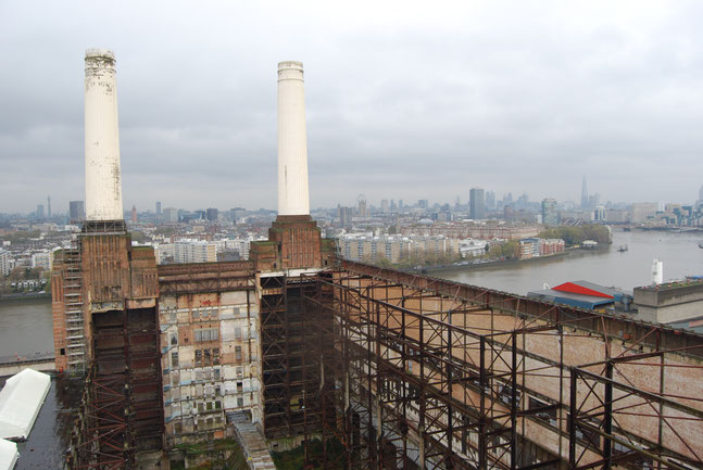 Sustainability on an urban scale with the Battersea Power Station in 2013 Photo by Heidi Mergl Architect