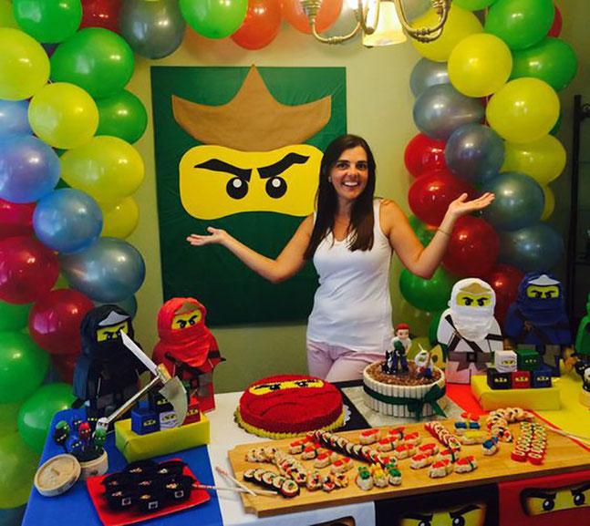 decoracion fiesta muñecos