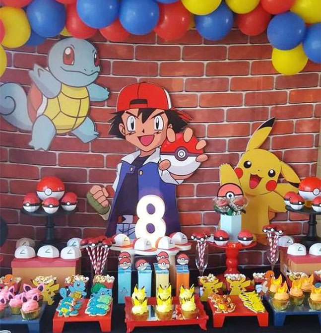 decoracion cumpleaños caricaturas