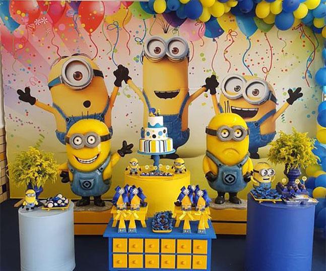 decoracion cumpleaños peliculas infantiles
