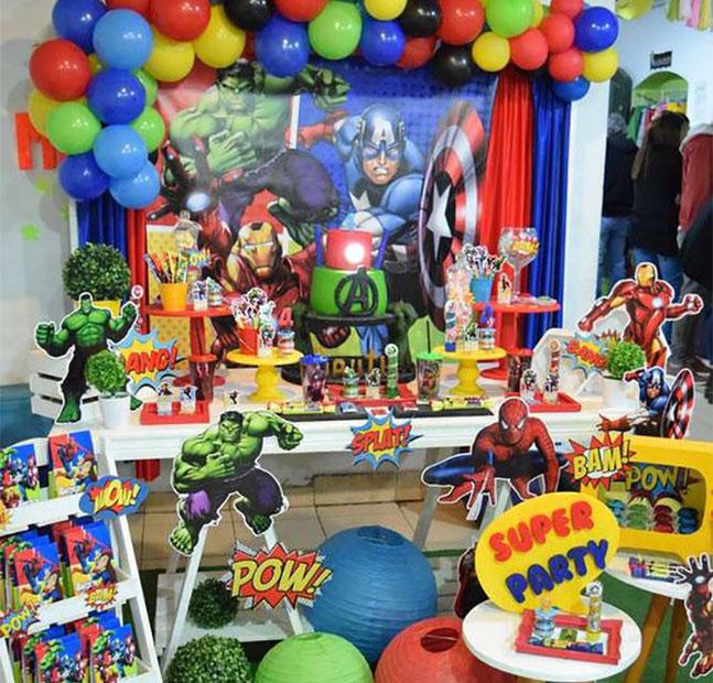 fiesta tematica avengers