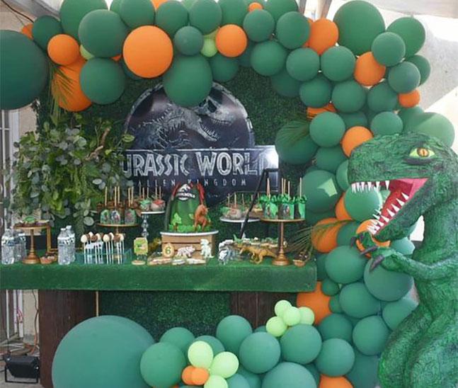 cumpleaños de dinosaurios
