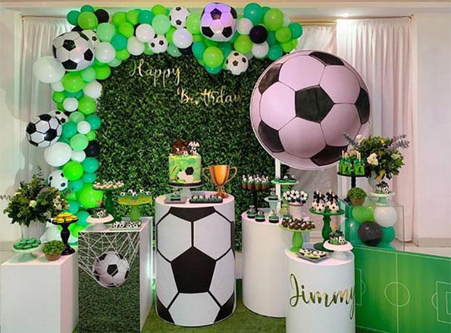 decoracion cumpleaños deportes