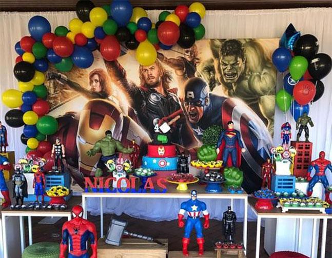 cumpleaños de avengers