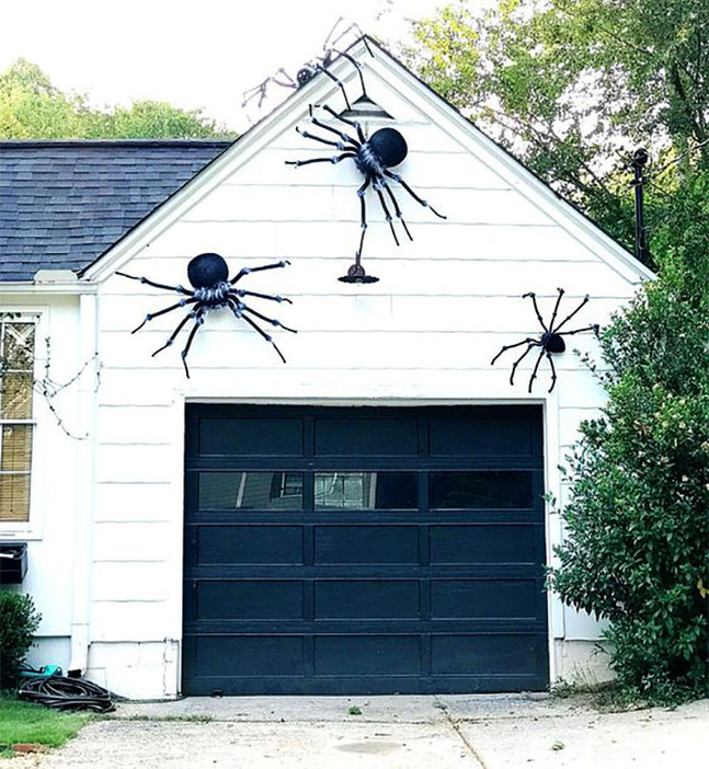 ideas de halloween para garage